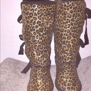 Sugar Shoes - NEW Sugar Moragami Sequin Boots